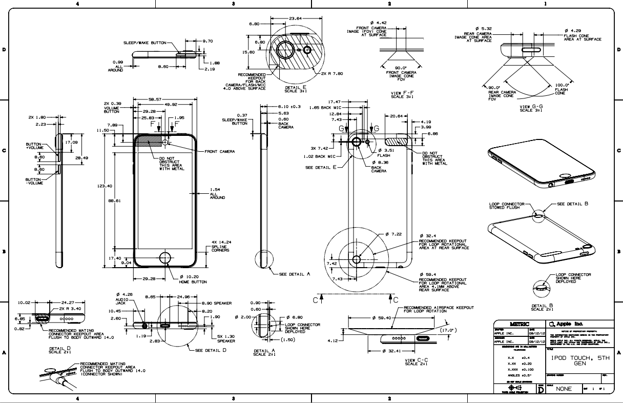 Ipod Nano Wiring Diagram Completed Diagrams Headphone Touch Simple Schema Full Fifth Generation