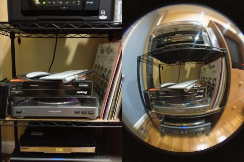 Fisheye (Before/After)