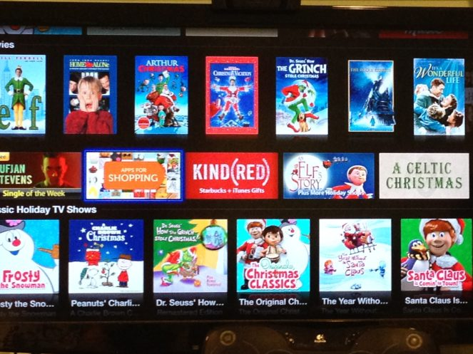Apple TV Apps for shopping