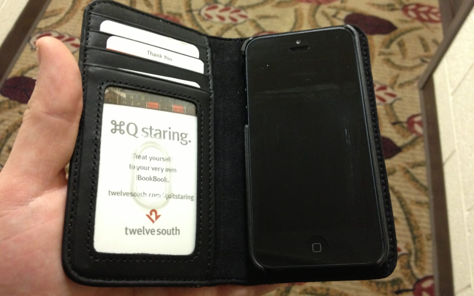 Review  Twelve South s BookBook case for iPhone 5 - 9to5Mac 967ba188399cc