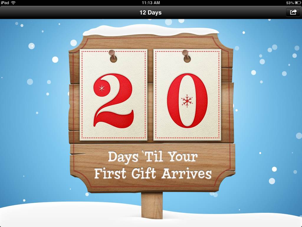 12 days of christmas gifts apples