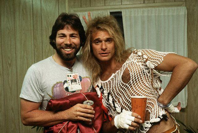 David Lee Roth and Steve Wozniak
