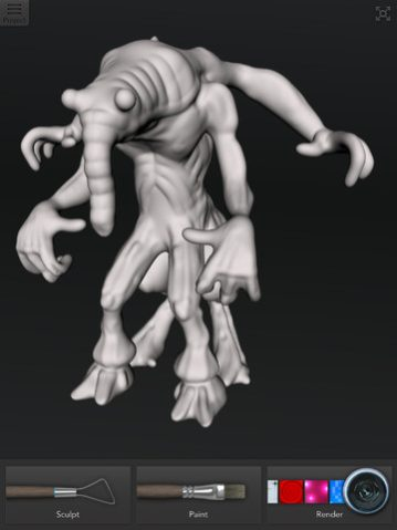 Creature-Autodesk-123D