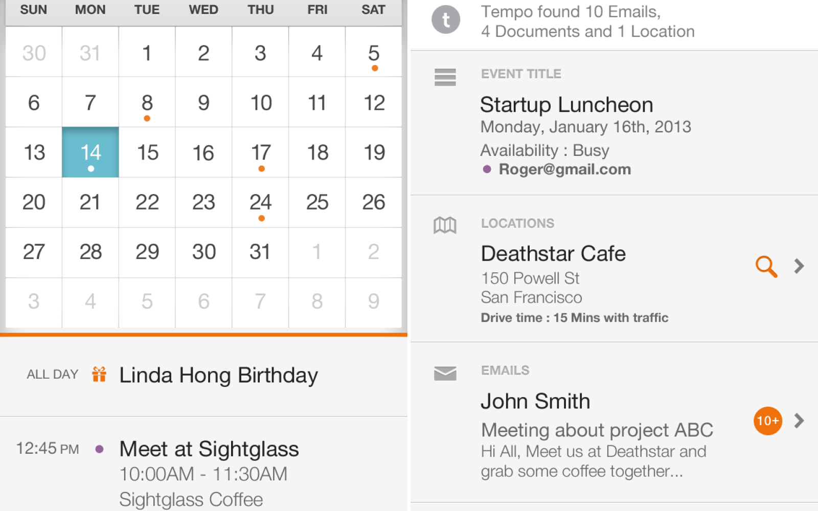 how to use calendar for iphone 5