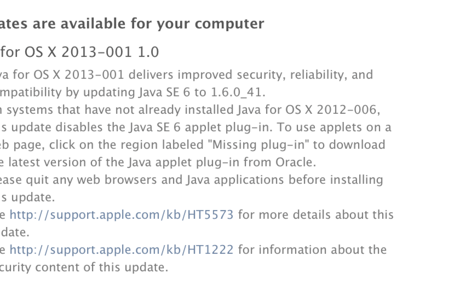 After Hack Apple Releases Java Security Update For Mac Users 9to5mac
