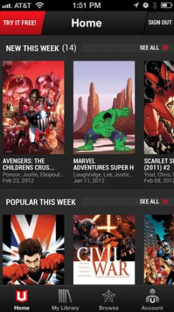 Marvel iPhone 1