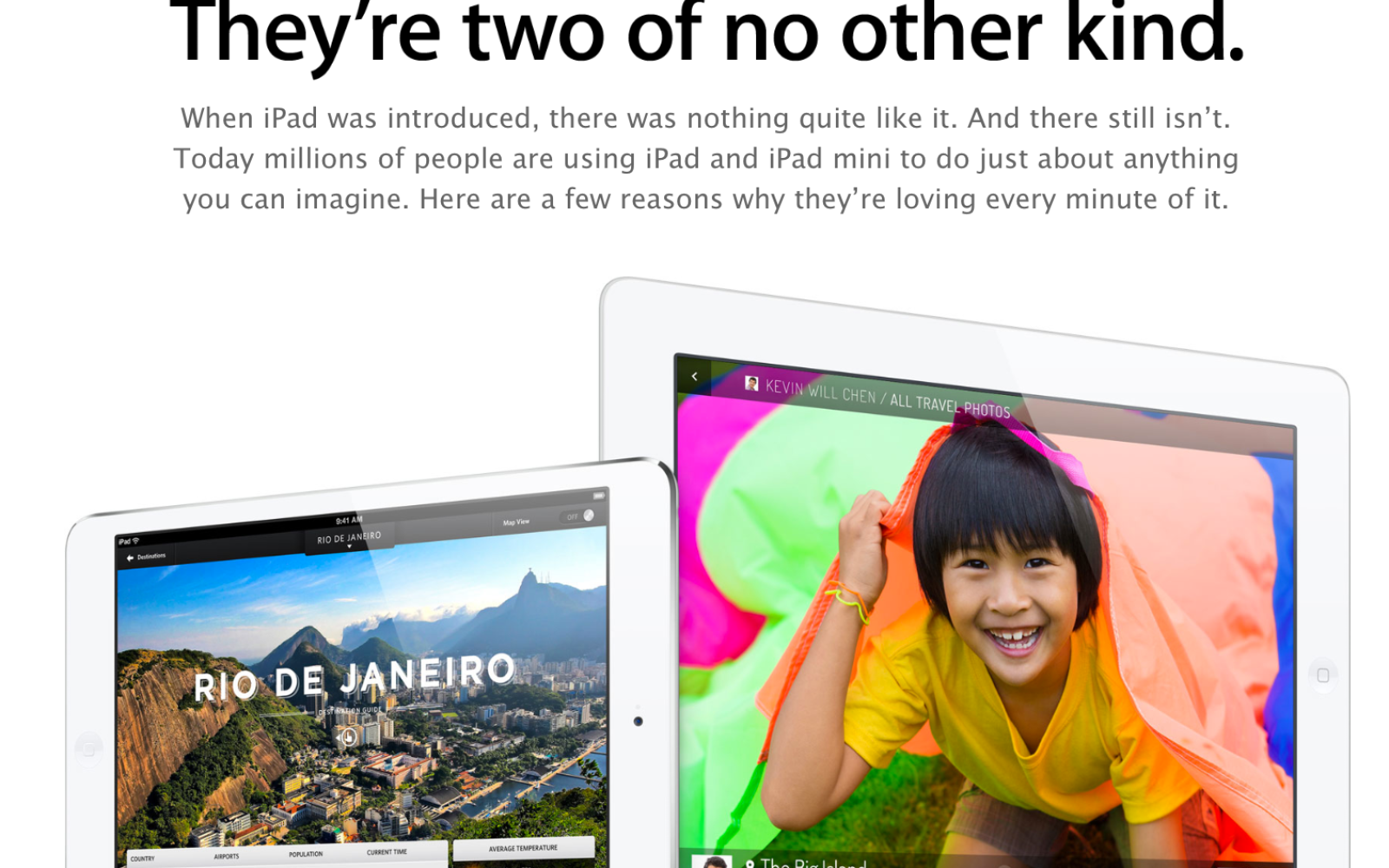 Following its new iPhone campaign, Apple shares 'Why you'll love an iPad'