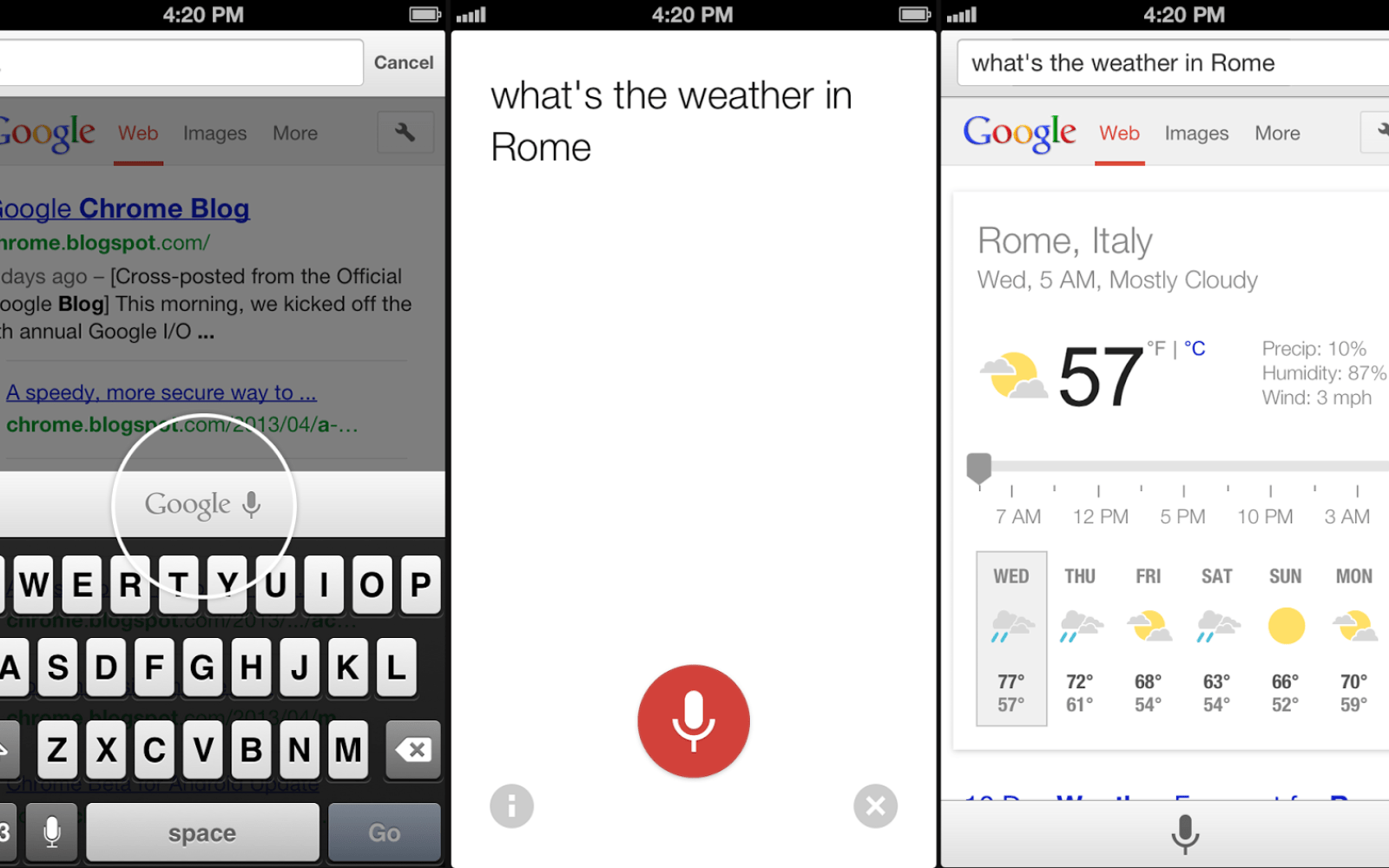 Google updates Chrome for iOS with conversational voice search, improved voice recognition & performance enhancements