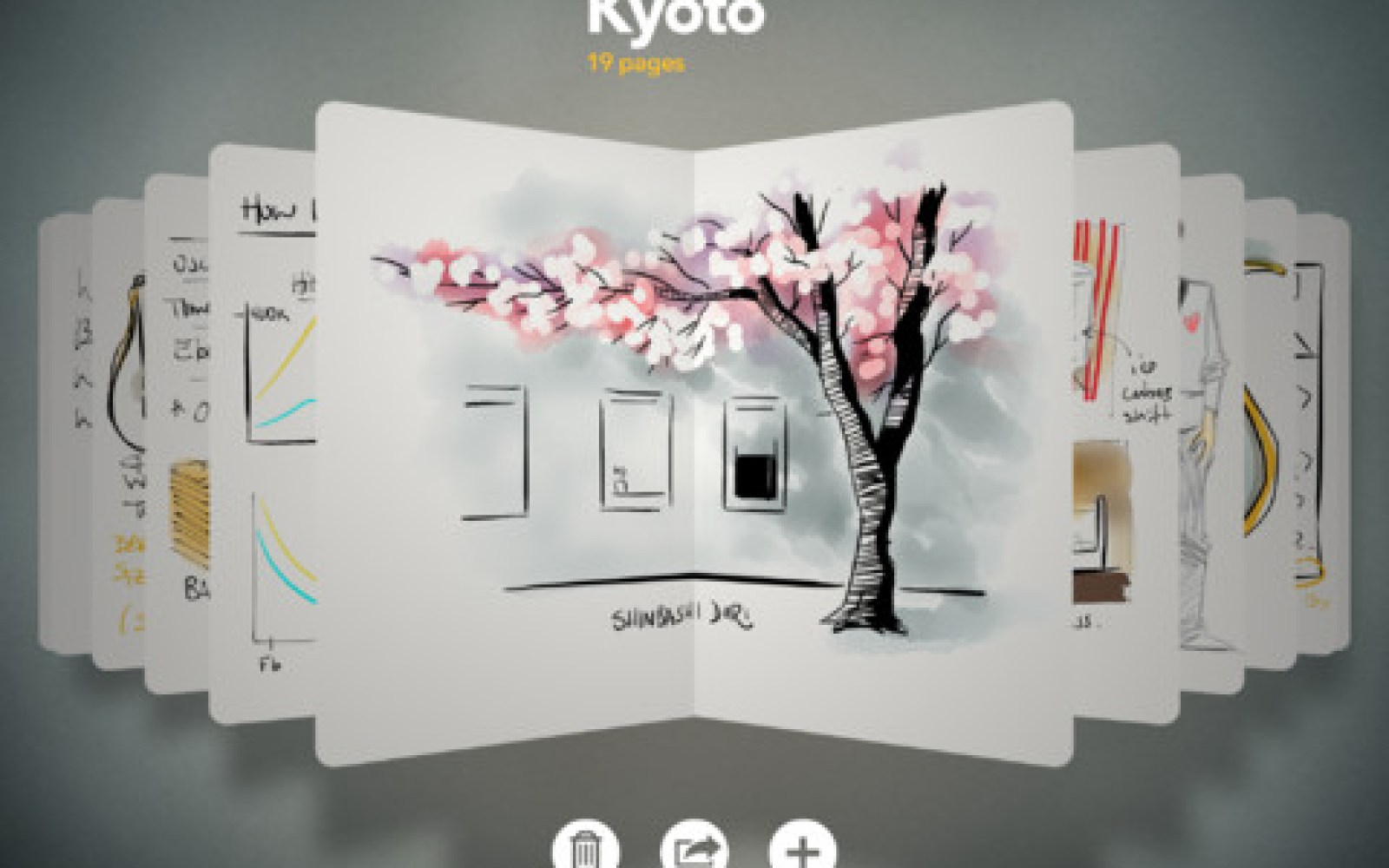 Paper by FiftyThree updated with 'Made With Paper' feed, pinch to zoom, & Expressive Ink Engine built on OpenGL