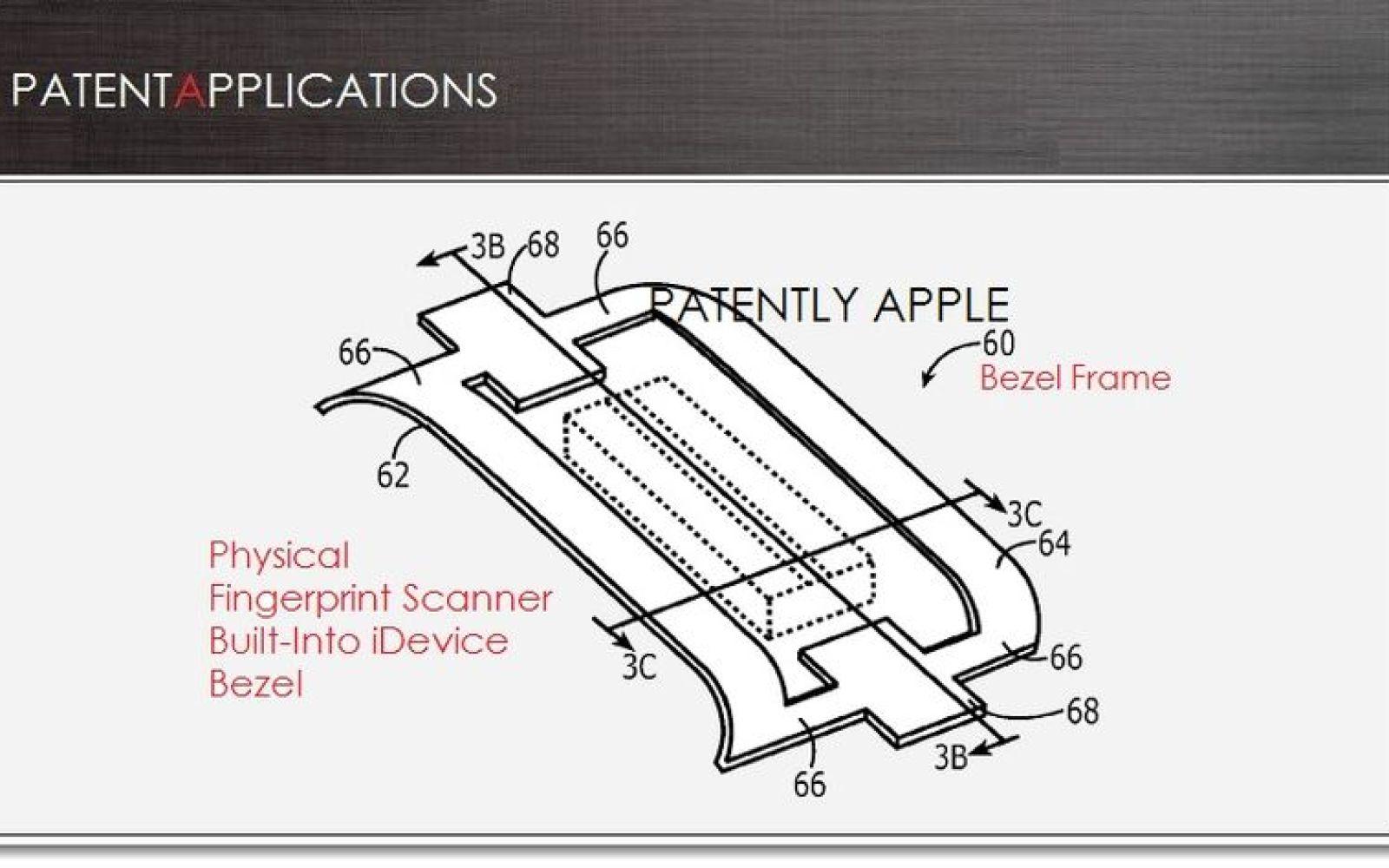 Apple patent application describes fingerprint sensor tech rumored for iPhone 5S