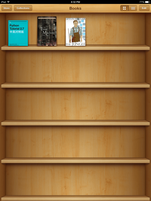 iBooks iOS 6