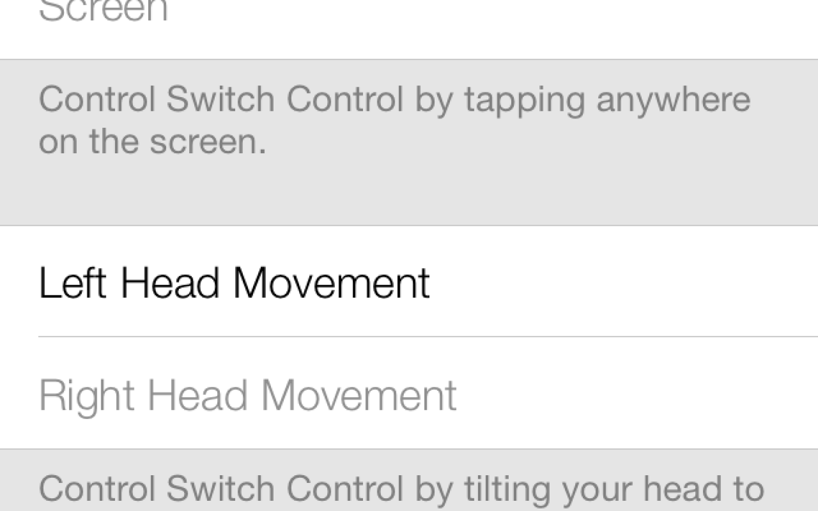 iOS 7 includes the ability to control your iPhone or iPad using head movements [video]