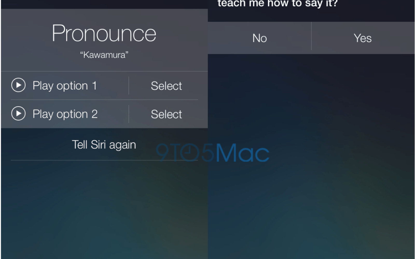 Siri takes initiative to learn how to pronounce names in iOS 7