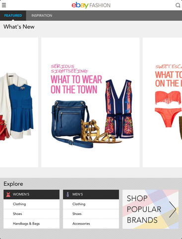ebay-fashion-iOS-app