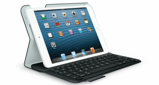 Ultra-Thin Keyboard for iPad Mini by Logitech