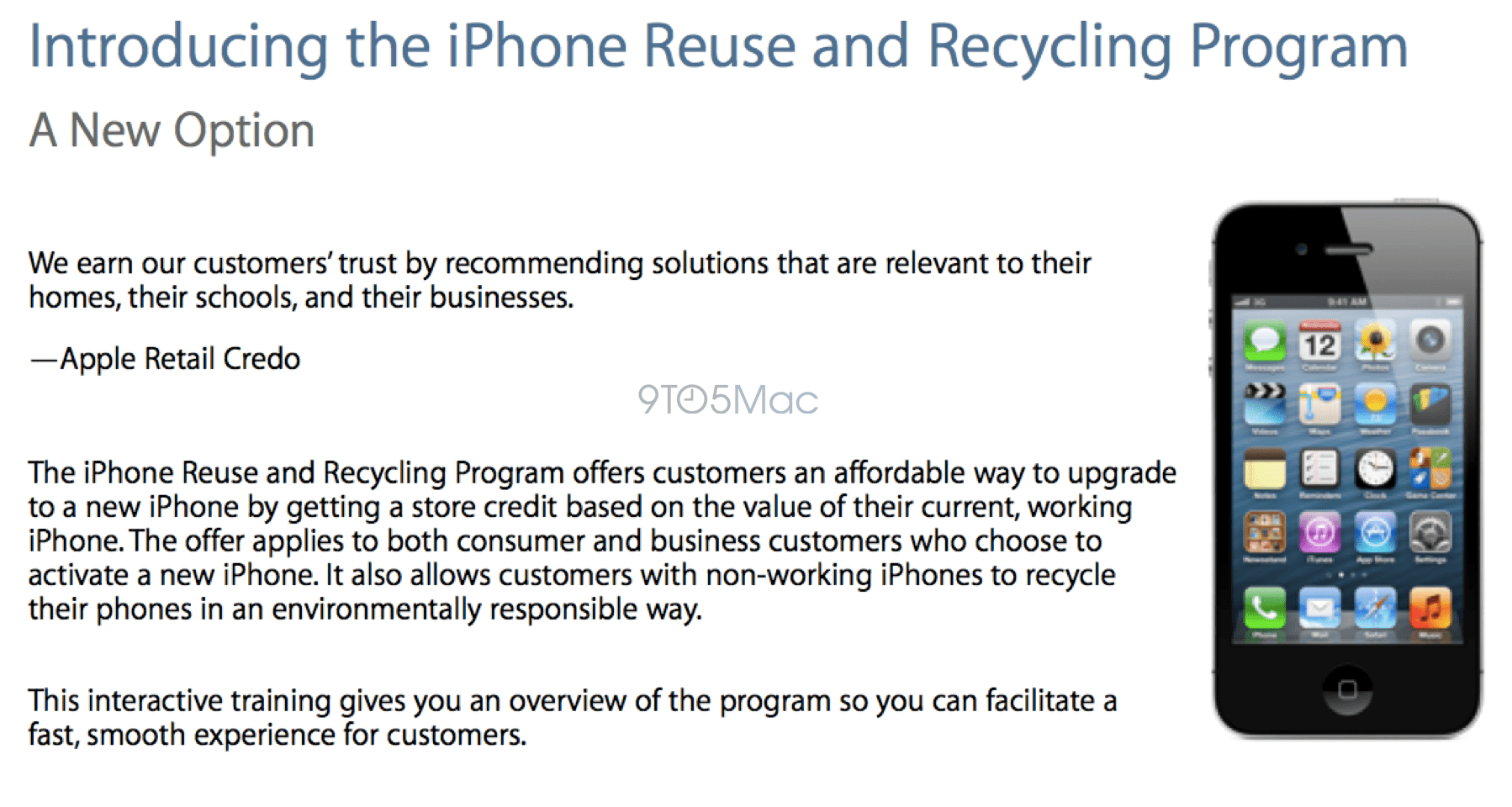 Apple Store IPhone Trade-in Program Expanding Soon To