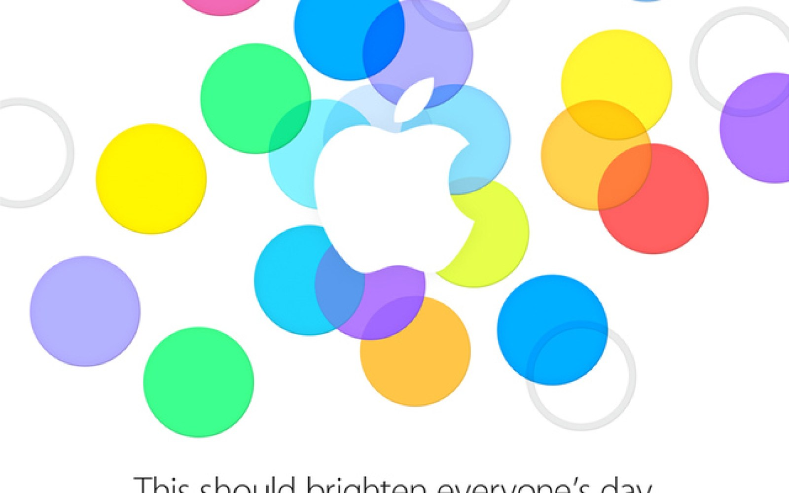 Apple announces its September 10 iPhone event in Cupertino: 'This should brighten everyone's day'