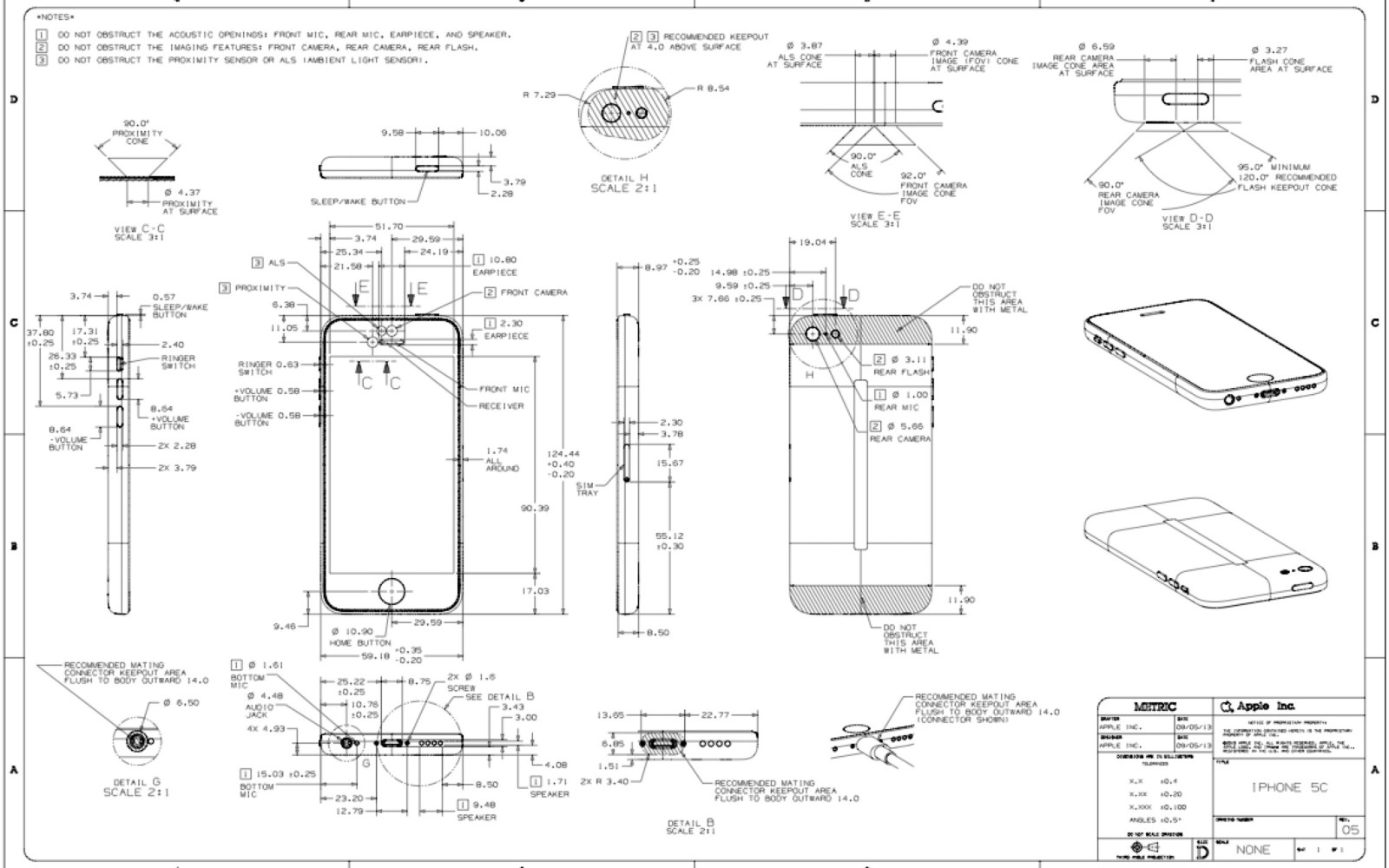 iphone 5 dimensions designing an iphone 5c 5s here are your official 10980
