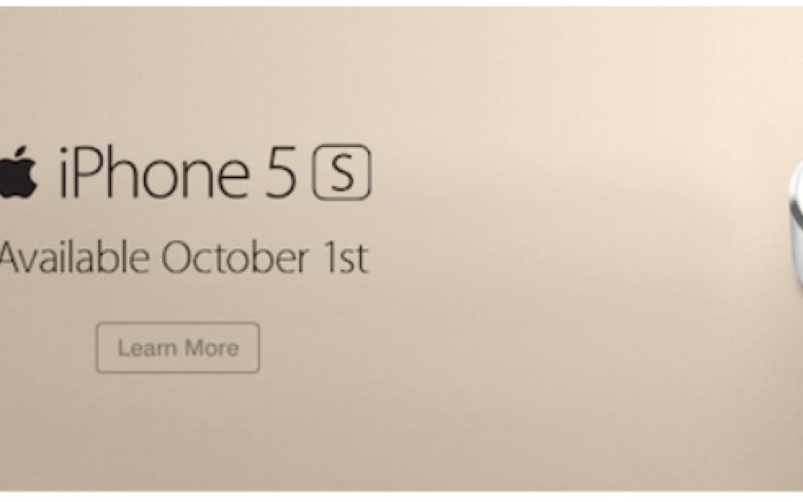 New iPhones hit nine regional U.S. carriers on October 1st