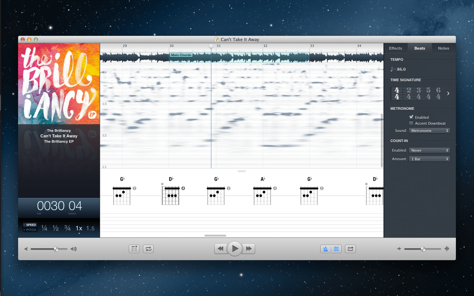 Capo 3 for Mac launches with automatic chord detection, beat detection engine, and more
