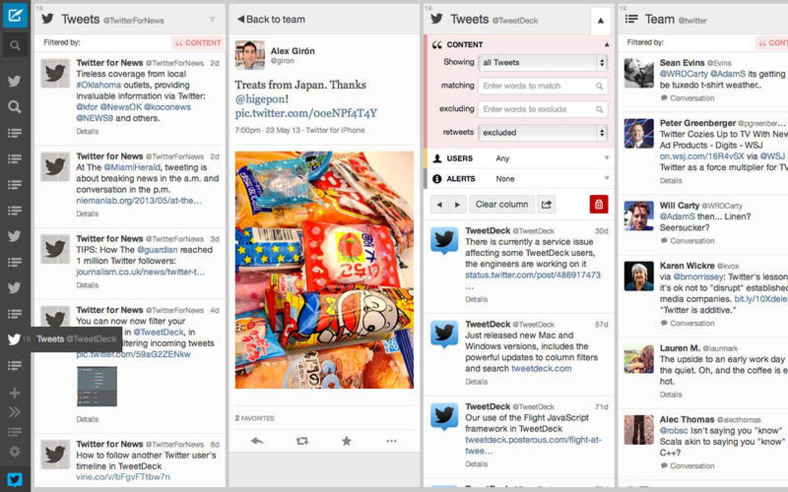 TweetDeck for Mac updated with username autocomplete, a new tweet composer, and more