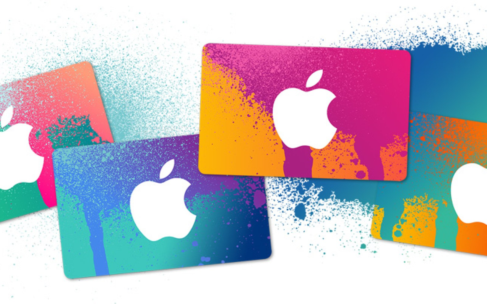 Apple iPad event spray paint spills over to this year's holiday gift cards