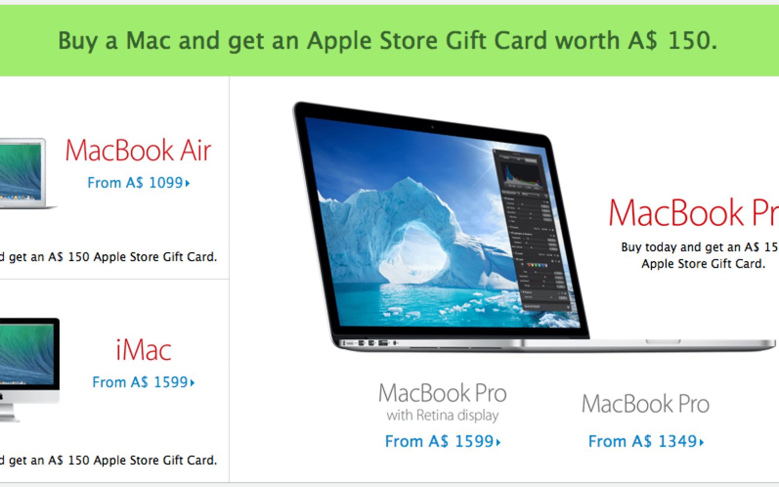 As predicted, Apple's Black Friday 'deals' go live and are gift card only, no discounts