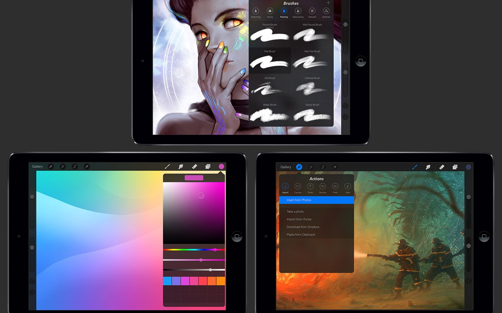 Procreate for iPad updated with iOS 7 redesign, 64-bit support, 4k canvas, more