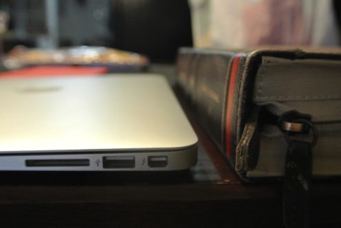 Thickness compared to a MacBook Air