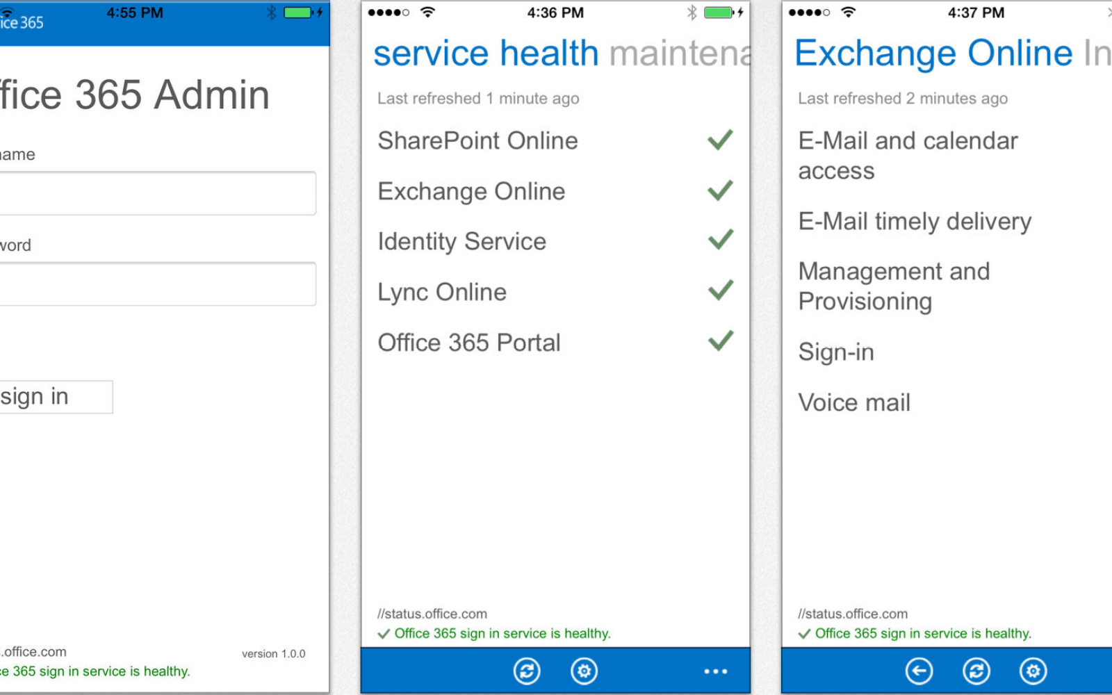 Microsoft releases iOS app for IT admins to manage Office 365 servers