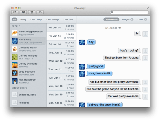 Chatology for Mac