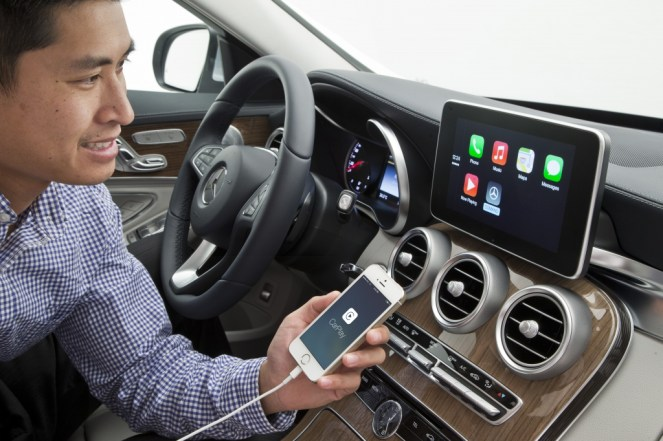 Mercedes-Benz gives us a look at Apple's CarPlay in new C-Class [Gallery]