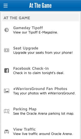 Warriors-iPhone-app
