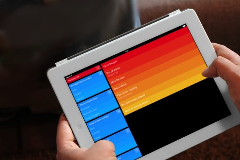Clear with Reminders - iPad
