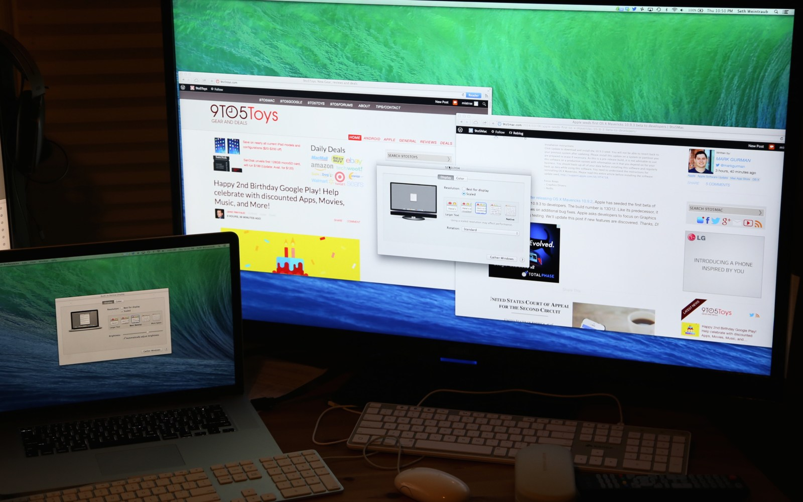 Apple details new 4K display support in OS X 10.9.3