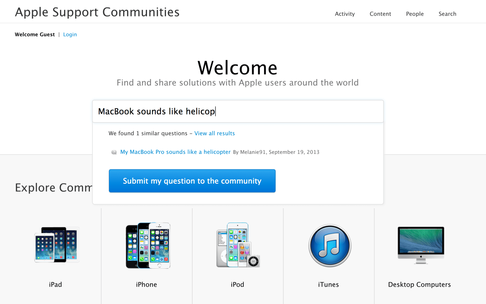 Apple redesigns Support Communities website