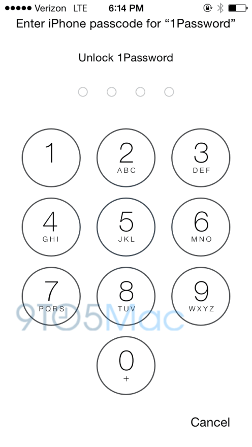 Hands-on: 1Password beta highlights iOS 8's Touch ID
