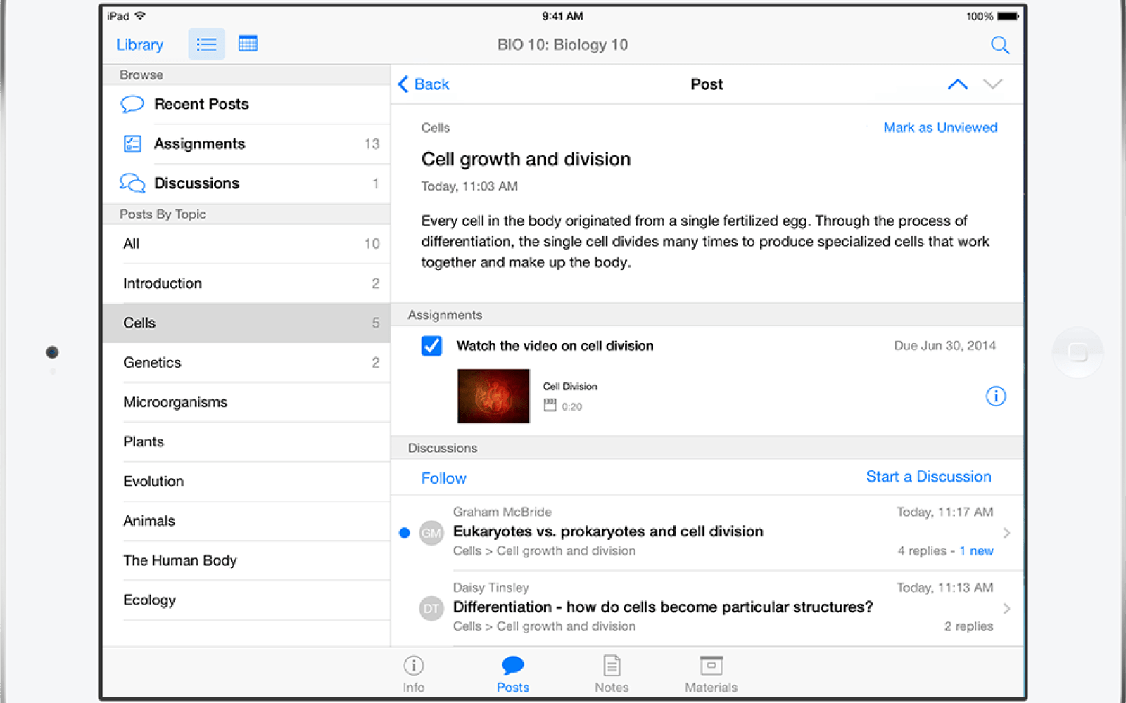 Apple announces iTunes U update with iPad Course Creation, Student Discussions & more