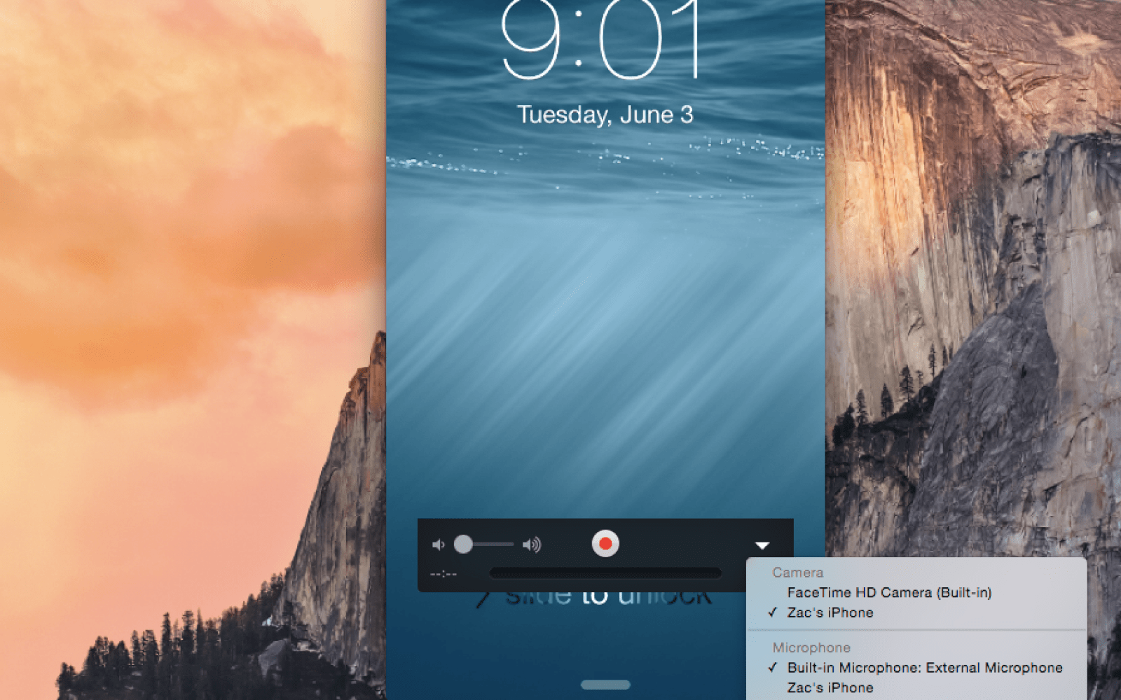 Apple makes it easy for devs (and others) to screencast iOS apps with OS X Yosemite