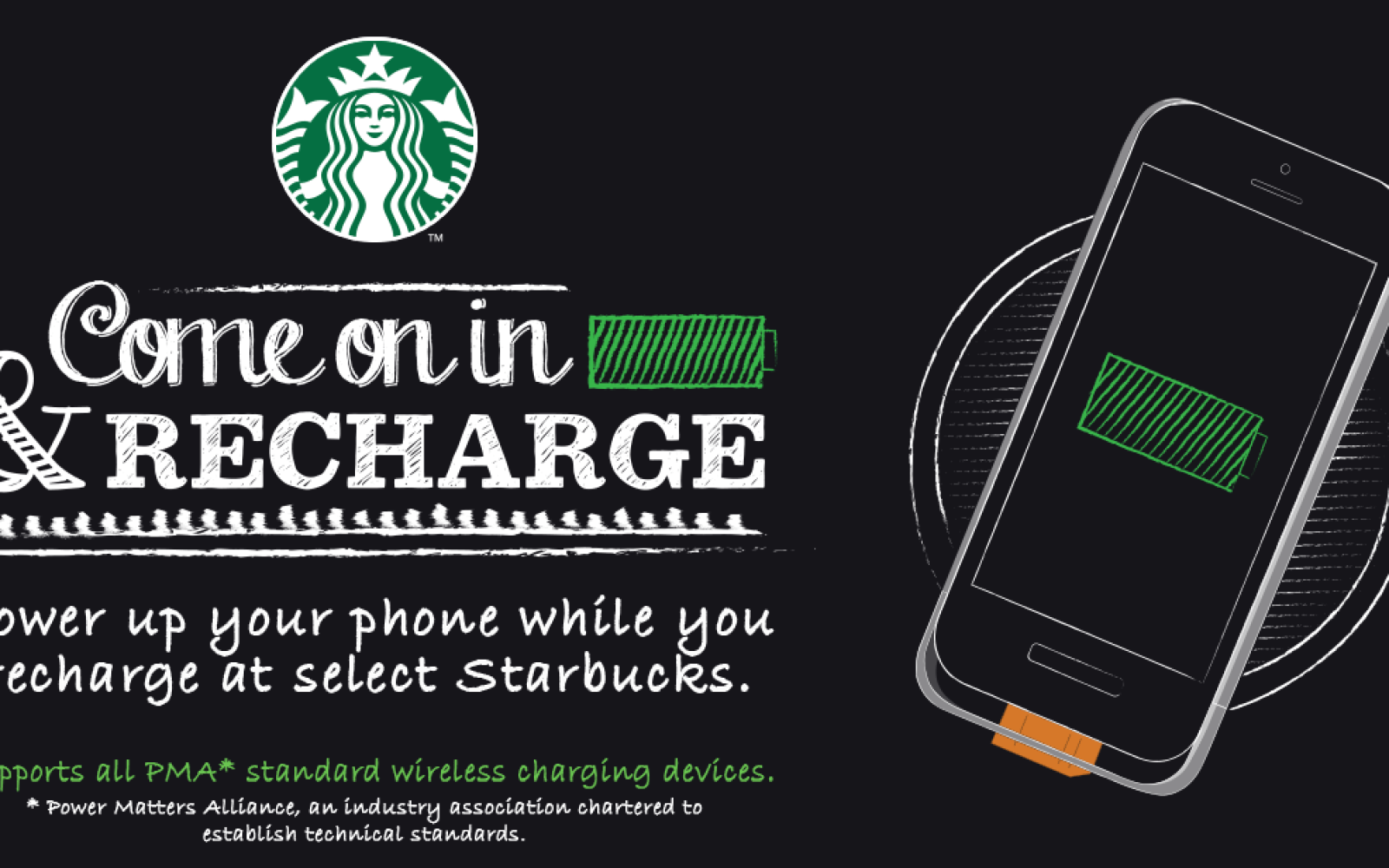 Starbucks teams up with Duracell to place iPhone-compatible wireless chargers in coffee shops