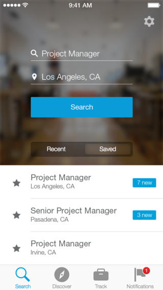 linkedin debuts new job search iphone app for finding your