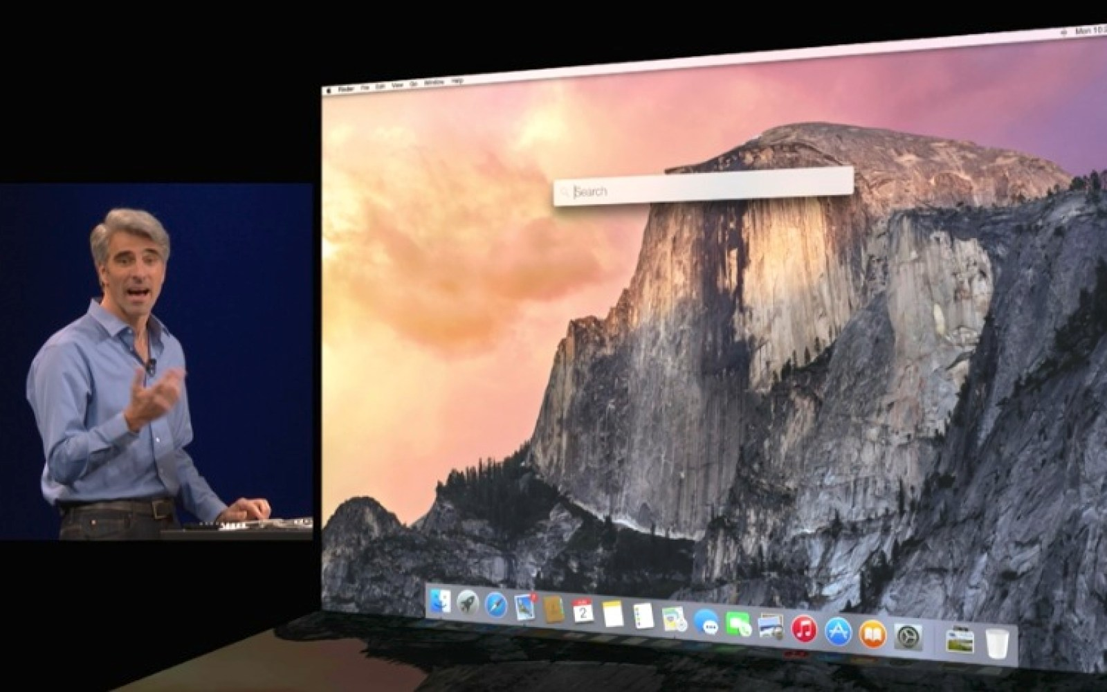 Spotlight in OS X Yosemite gains new and advanced search functionality