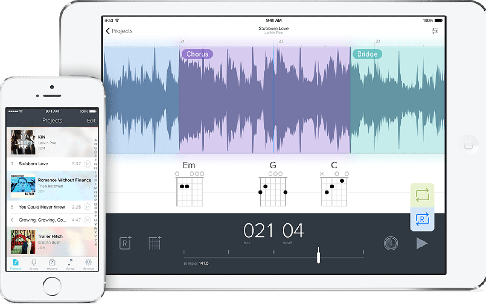 Capo touch brings music learning to iOS, Mac version adds iCloud Sync and more