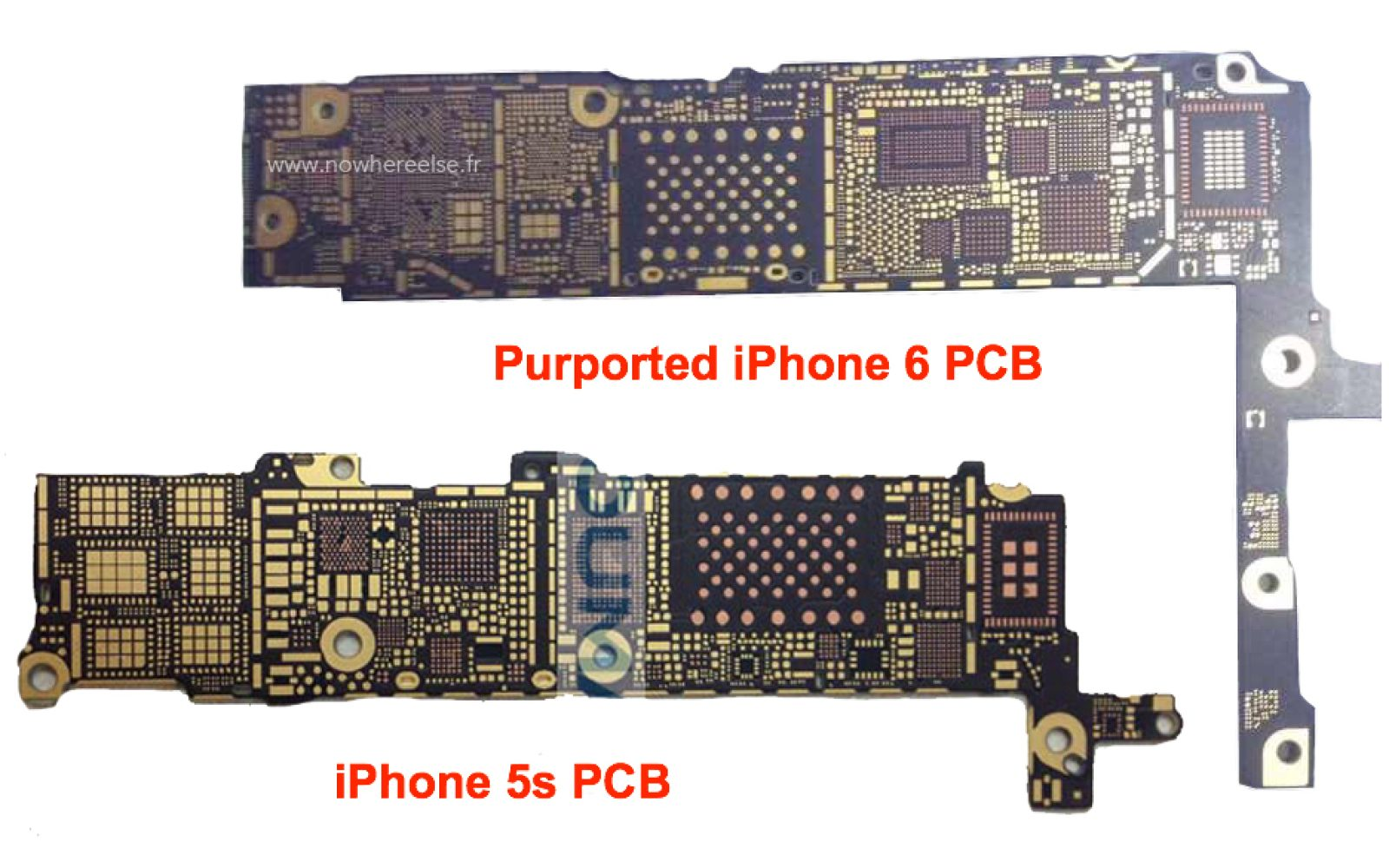 Printed Circuit Board 9to5mac Photos Pcb Circuits Computers Components Technology Image Nfc Rumored For Next Iphone Fourth Year In A Row This Time Based On Leaked