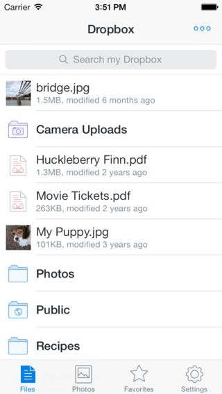 Dropbox for iOS updated w/ search support within Word and PowerPoint documents, larger GIF support, more