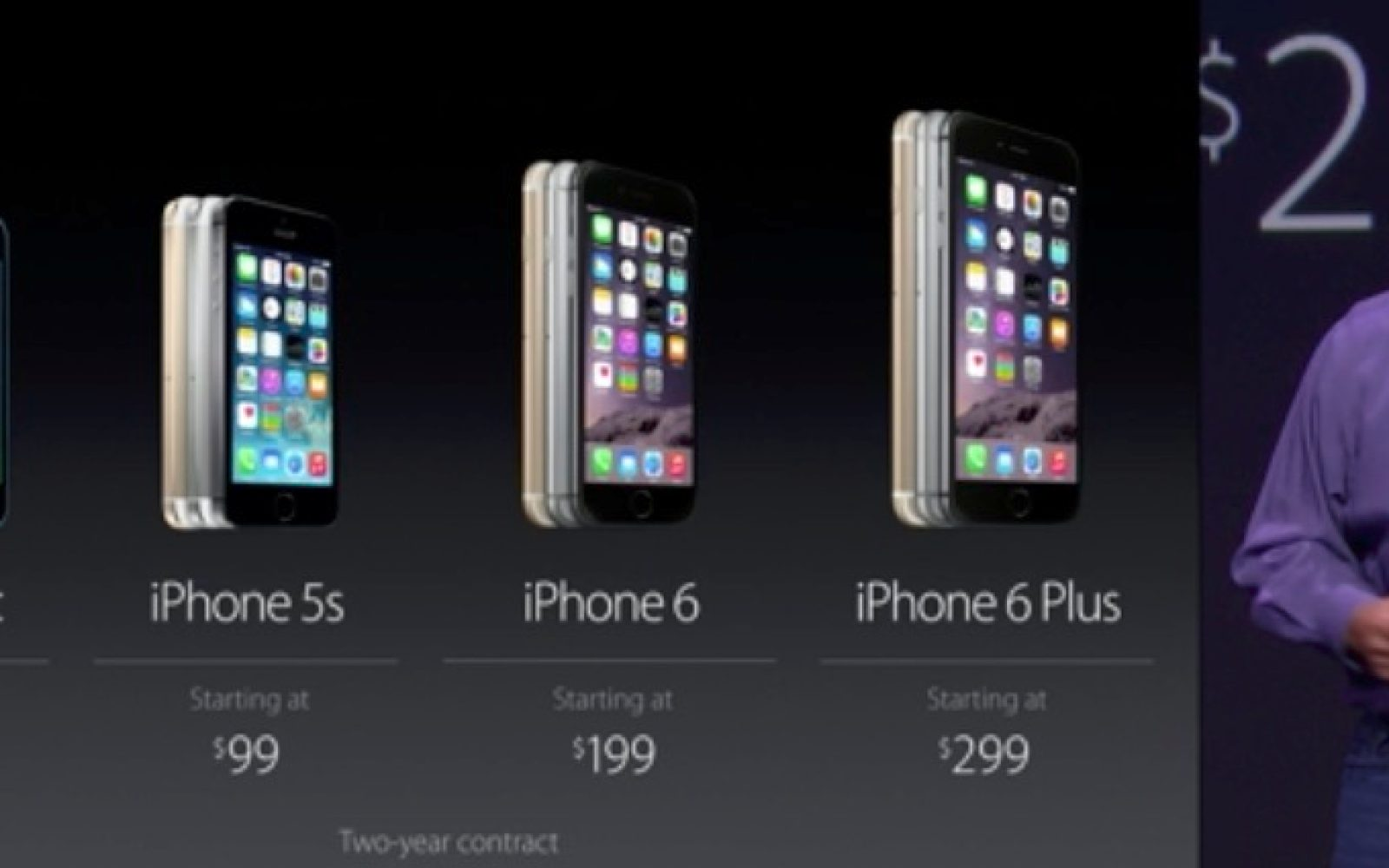 Iphone 6 Starts At 199 Plus 299 Preorder Sept 12 Apple 6plus 16 Ships 19