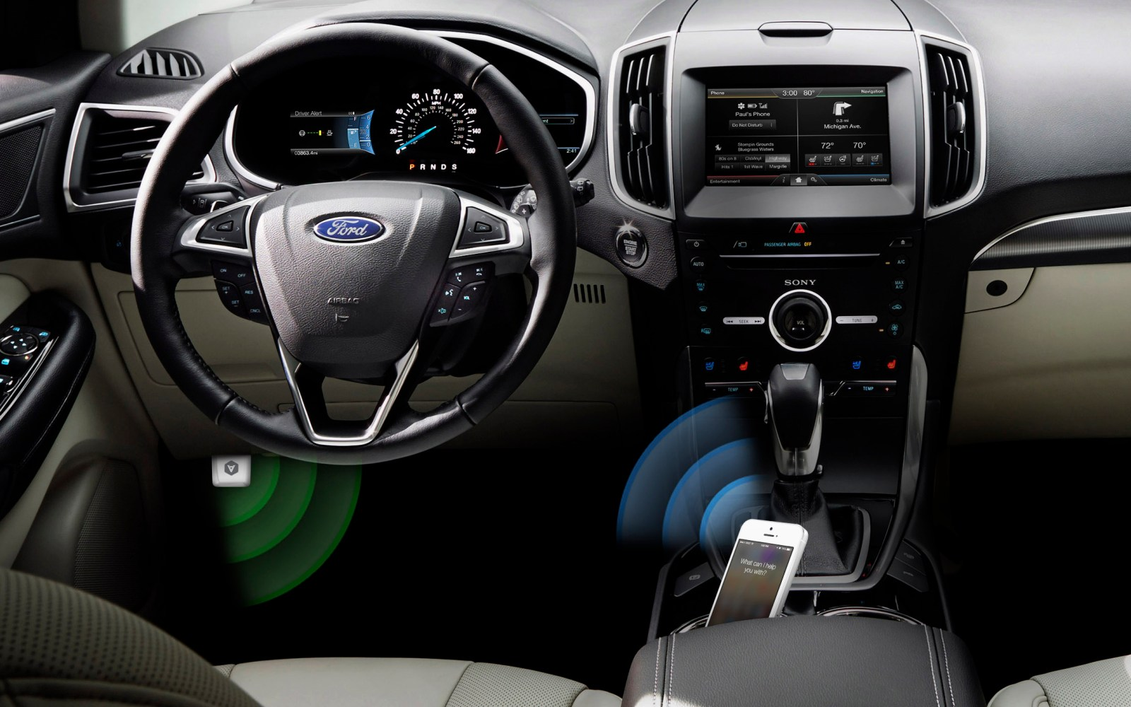 Smart driving assistant Automatic partnering with Ford Motors through its in-car Sync platform