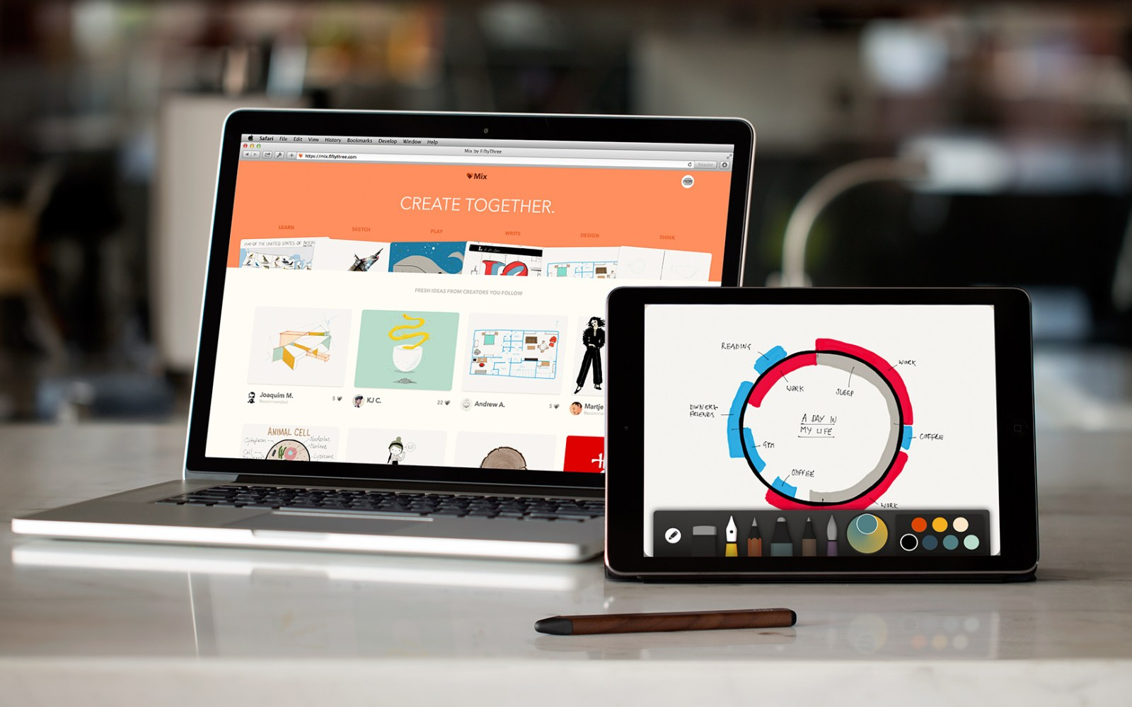 Paper by FiftyThree updated with Adobe Creative Cloud integration, push notifications and other improvements