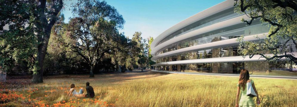 Rendering-Apple-spaceship-campus