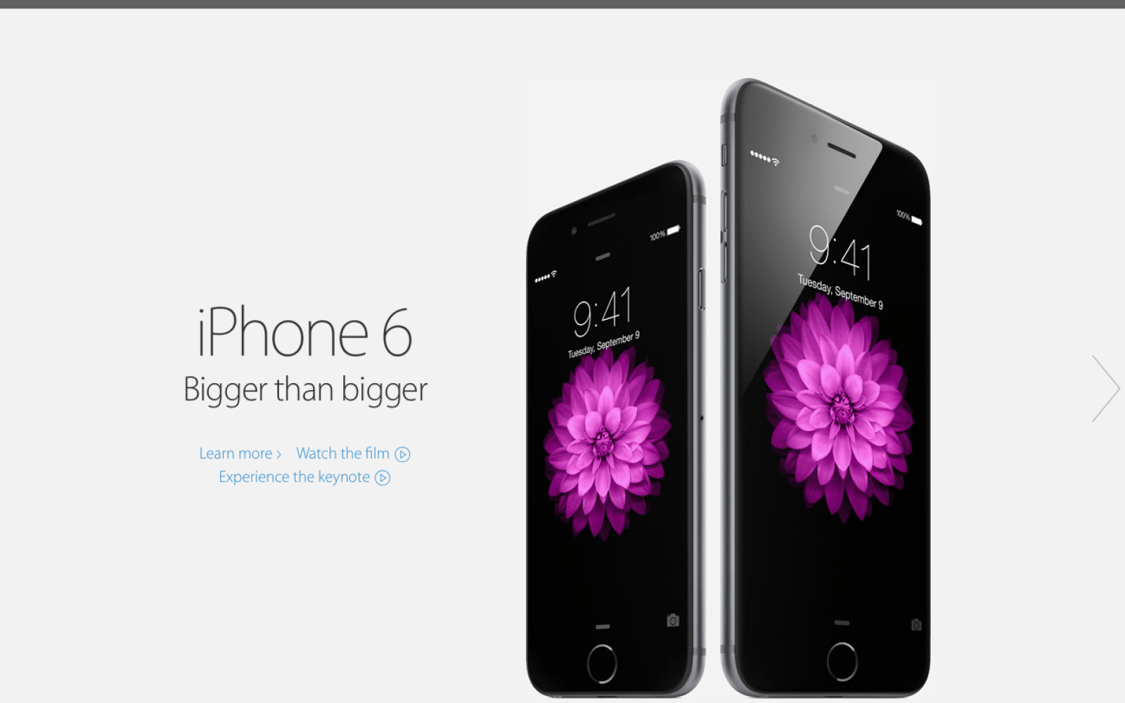premium selection 815ba 5f26b Apple publishes new iPhone 6, Apple Watch pages on redesigned ...
